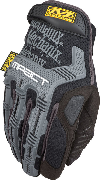 Перчатки (Mechanix Wear) M-Pact Black/Grey (L)